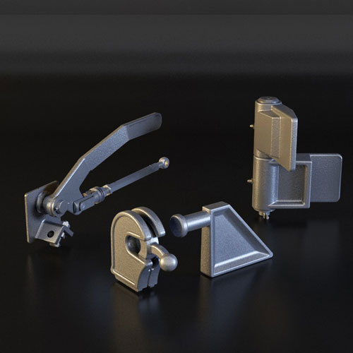 Locks for steel sideboards