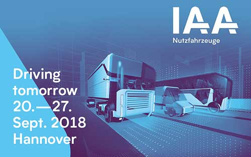 Fachmesse IAA in Hannover 2018