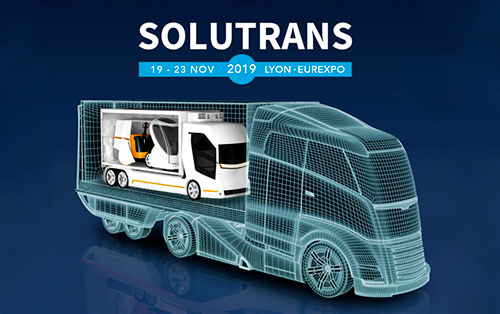 Messe SOLUTRANS in Lyon 2019